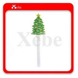 聖誕樹造型usb充電線