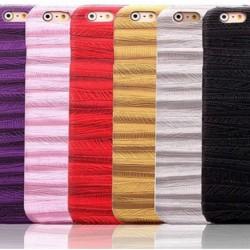 iphone65s立体木纹苹果6plus防滑画沙木纹贴片手机壳保护壳