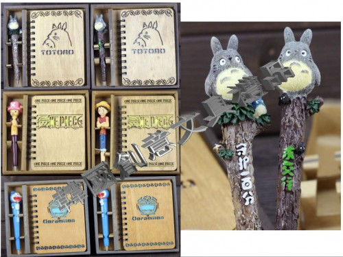 zakka精致笔记本礼盒套装 韩国文具动漫创意新款学生礼物个性礼品